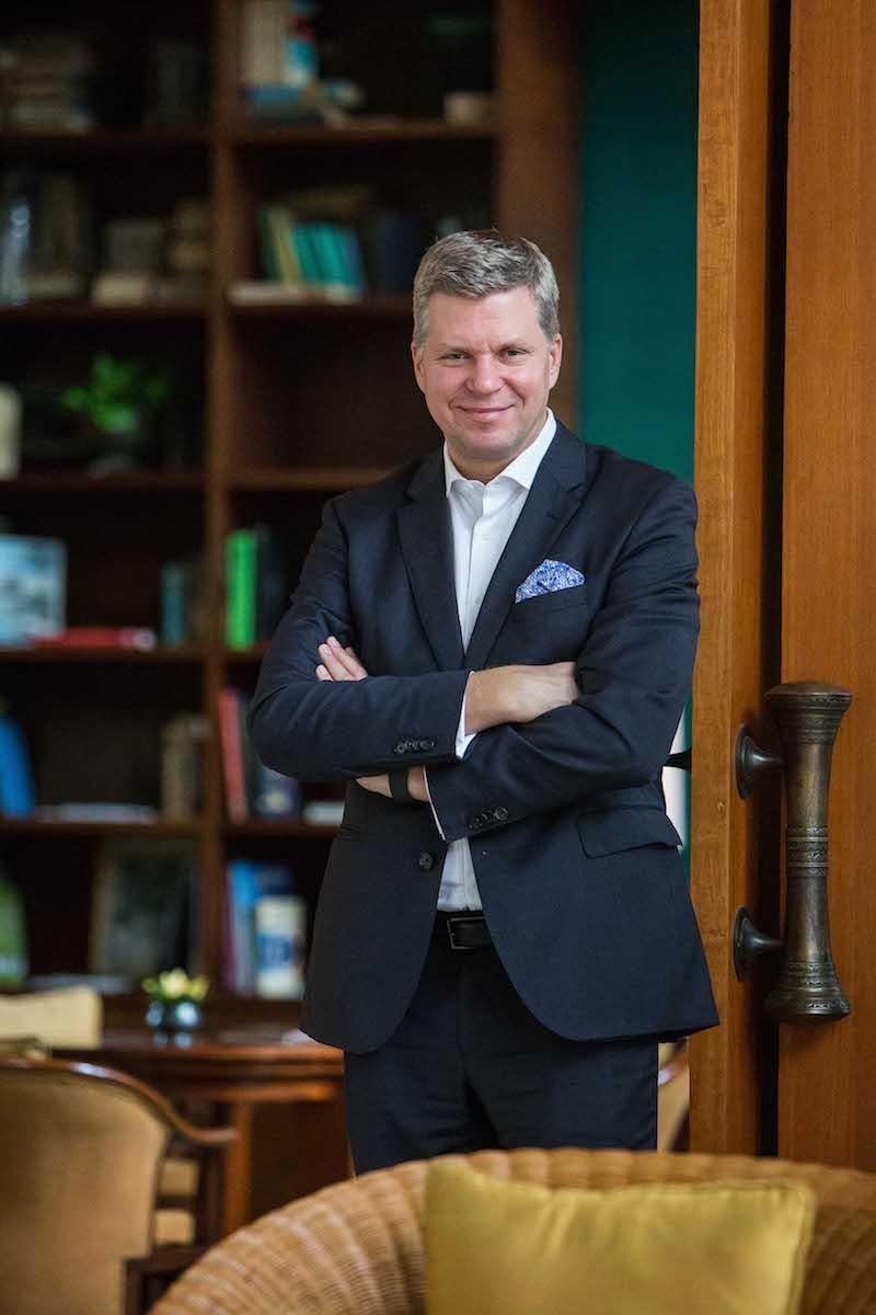 Ferrari's Far East and Middle East Hub CEO Dieter Knechtel