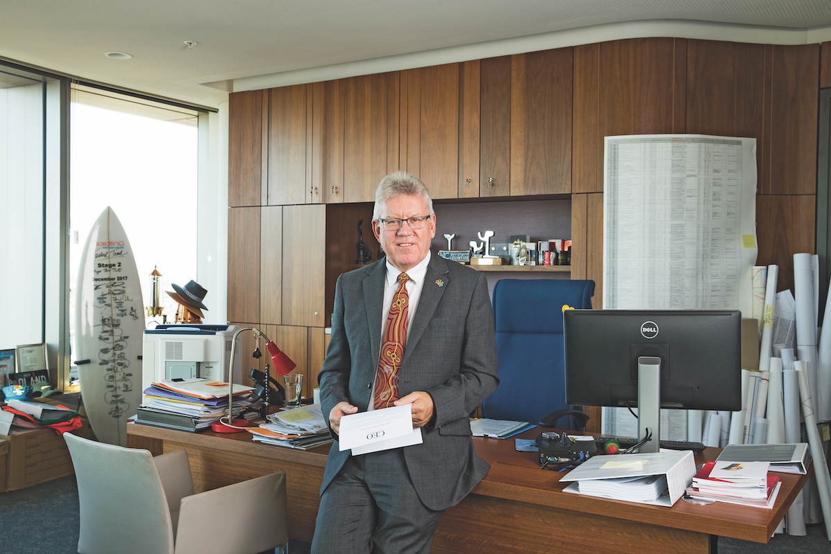Neil Scales, Director-General of Department of Transport and Main Roads Queensland