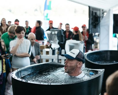 CEO in ice bath challenge for CEO Dare to Cure CCI fundraiser