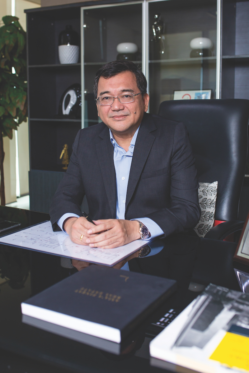 Ray Manigsaca, President and CEO of AppleOne Properties Inc