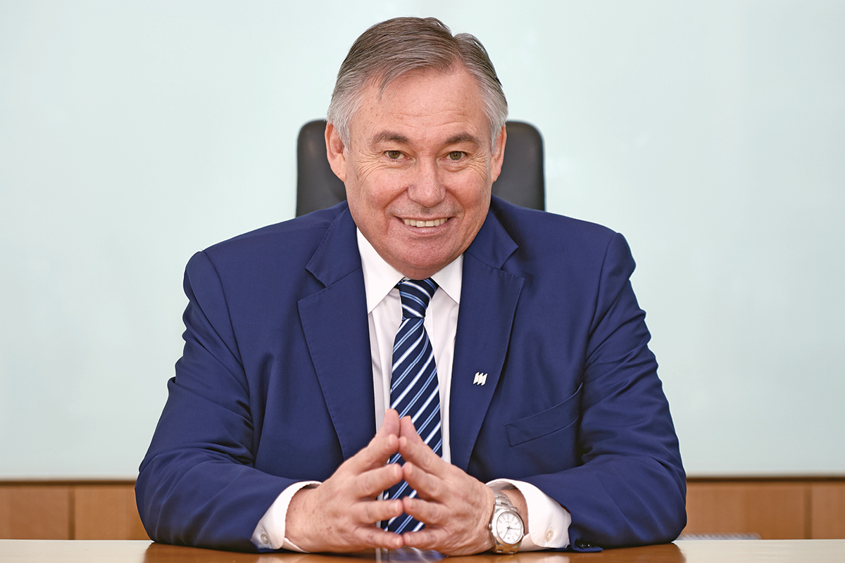 Robert Elliott, CEO and General Manager of Manulife Cambodia