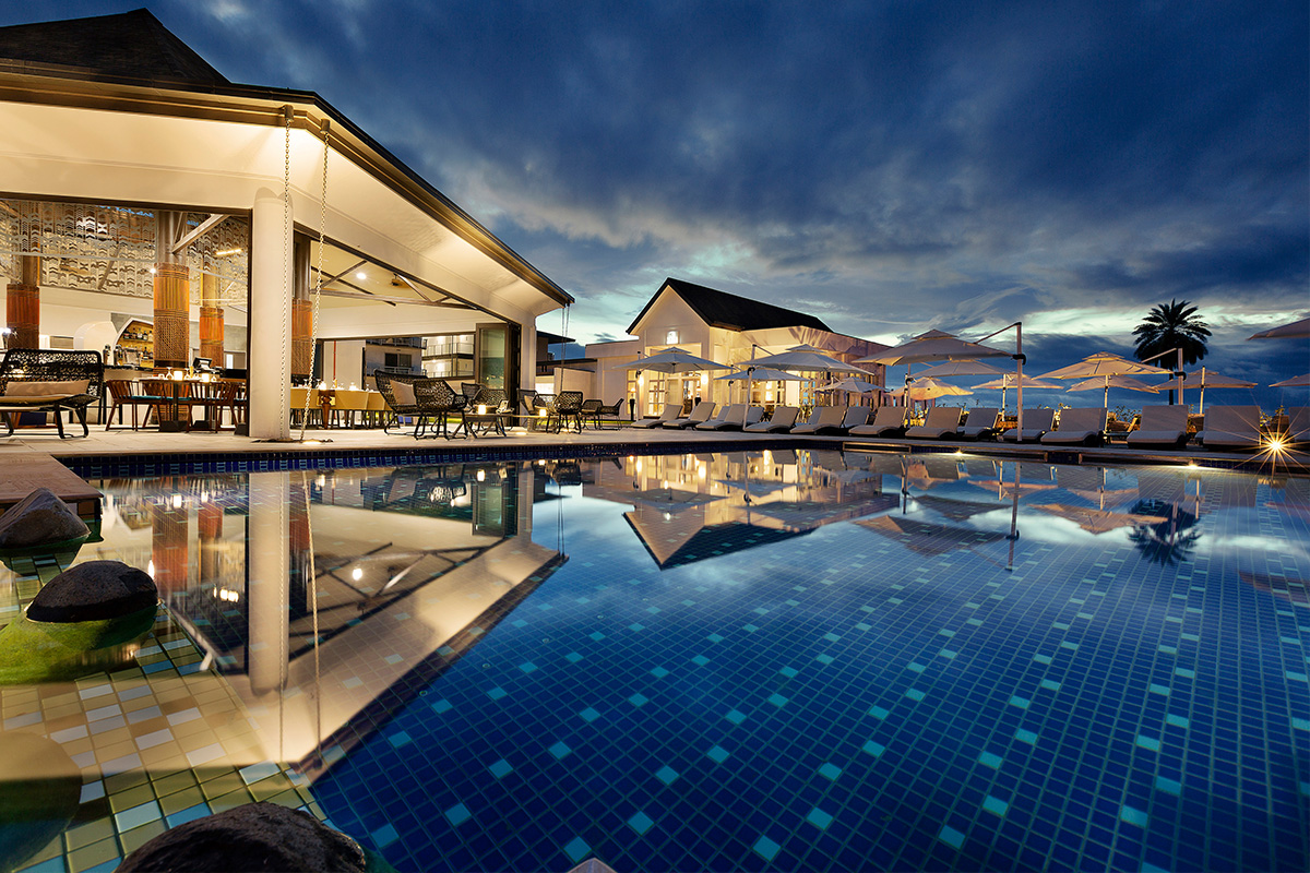 Pullman Nadi Bay luxury Fiji resort