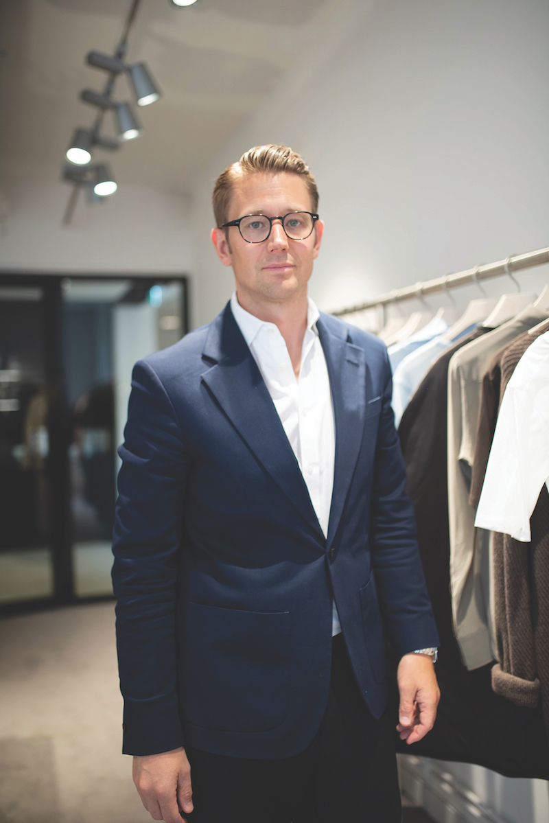 Kristofer Tonström, CEO of Filippa K