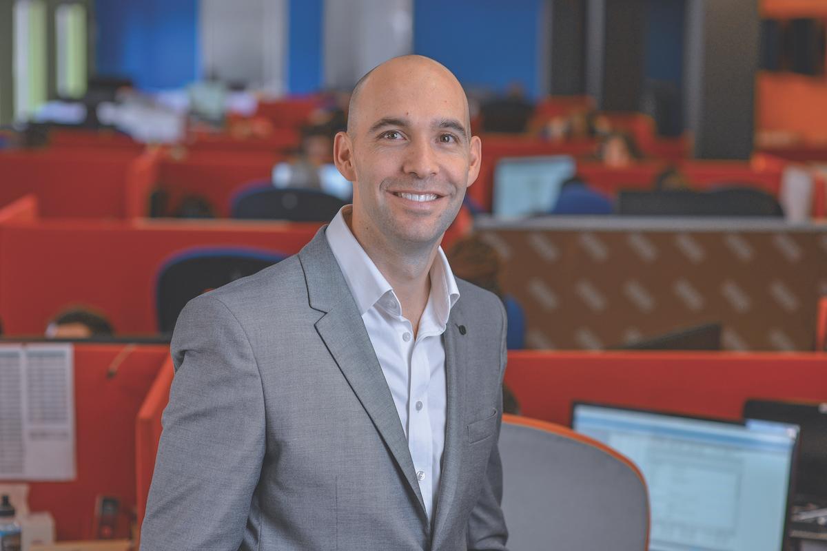 Kyle Woolf, CEO of Saicom