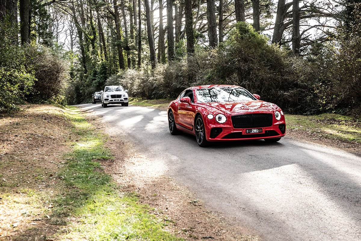 Bentley overnight drive experience to Milton Park