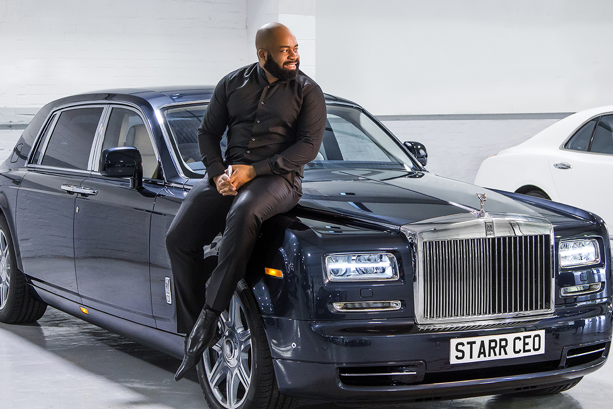 Bugatti, Rolls-Royce and Ferrari can be hired with Starr Luxury Cars