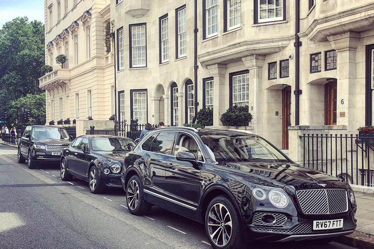 Bugatti, Rolls-Royce and Ferrari can be hired in luxury cars share scheme
