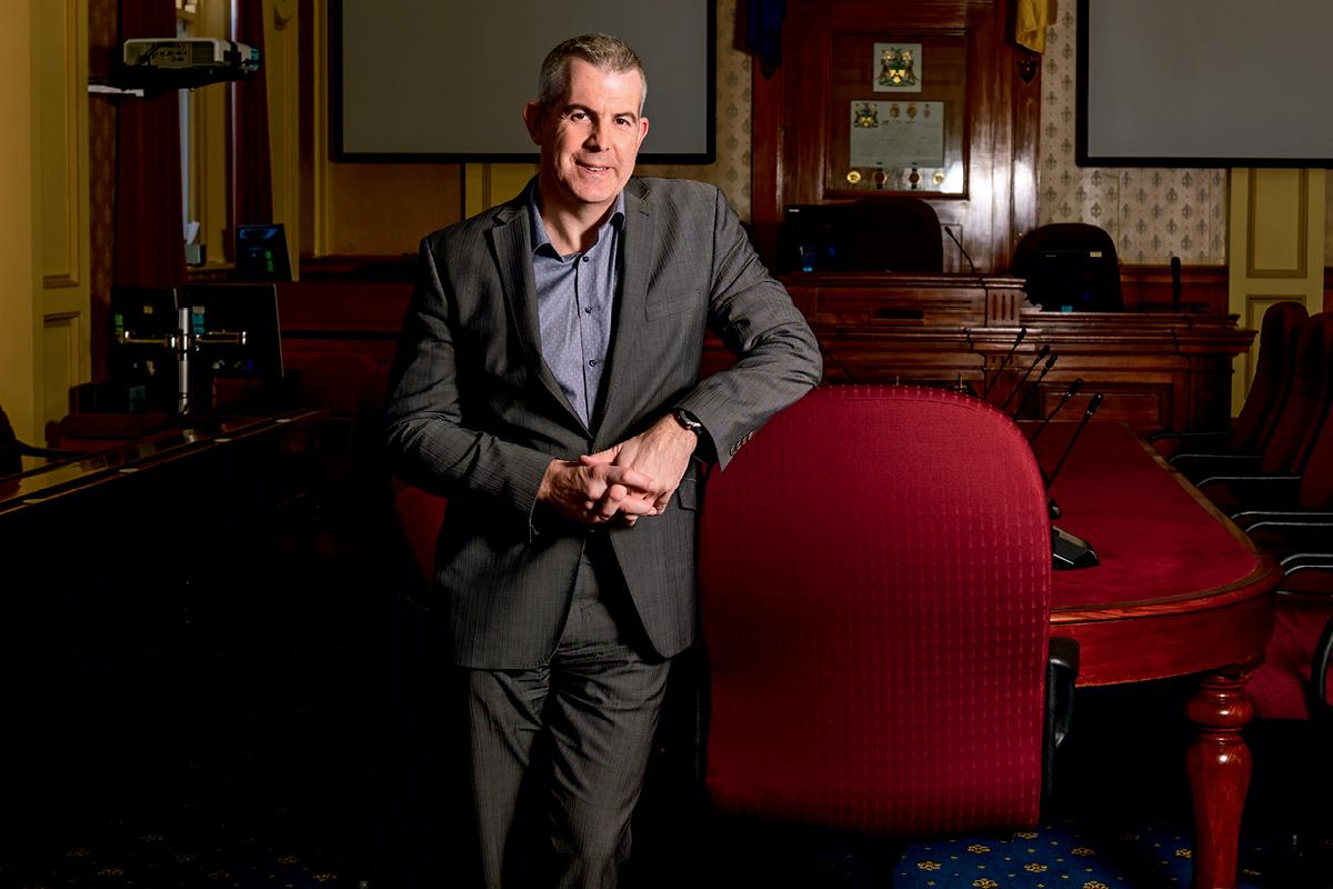 Michael Stretton, General Manager of Launceston City Council