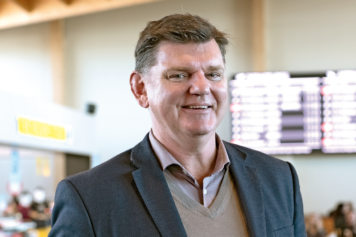 Rob Evans, CEO of Nelson Airport