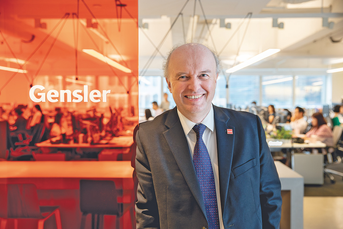 Callum MacBean, Principal and Managing Director of Gensler Hong Kong