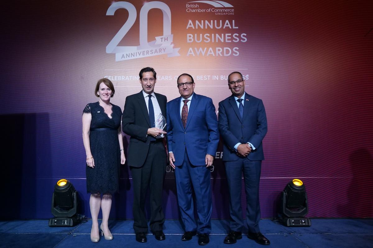British Chamber of Commerce Singapore Business Awards