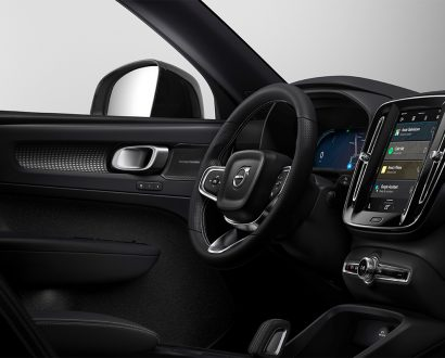 Volve Google electric SUV interiornte