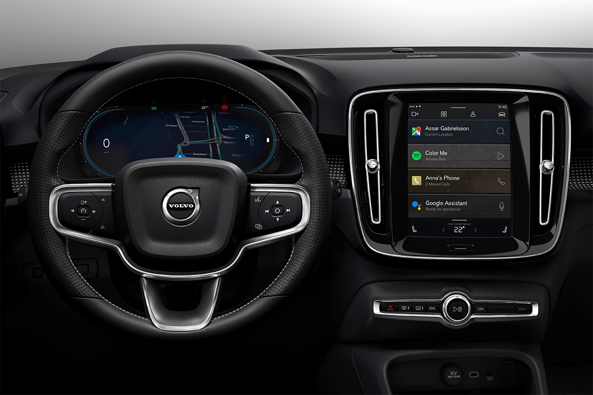 Volvo first to partner with Google