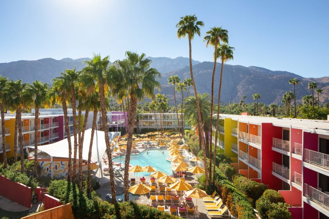 3 of the best hotels in Palm Springs