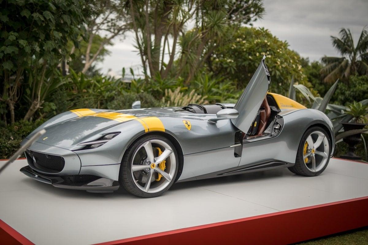 Sydney Harbour Concours d'Elegance Ferrari Monza SP1