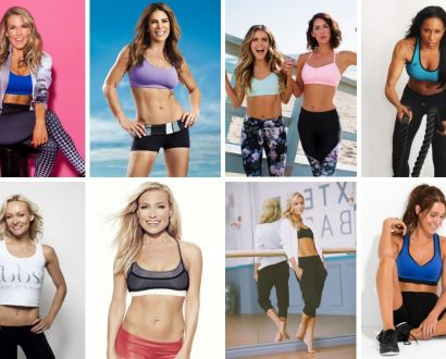 top women in fitness