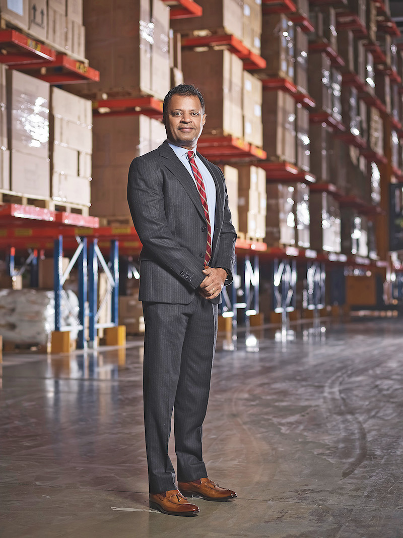 Ranjeev Menon, CEO of Gulf Warehousing Company