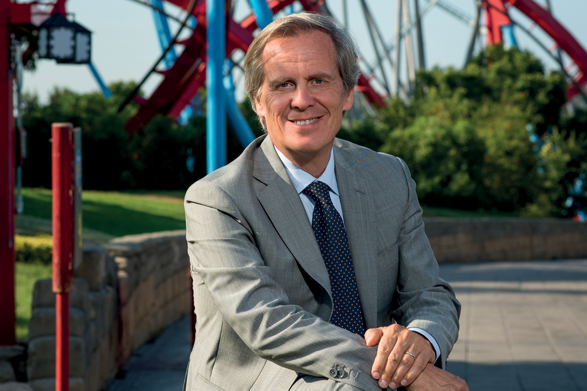 Sergio Feder, President and CEO of PortAventura SF