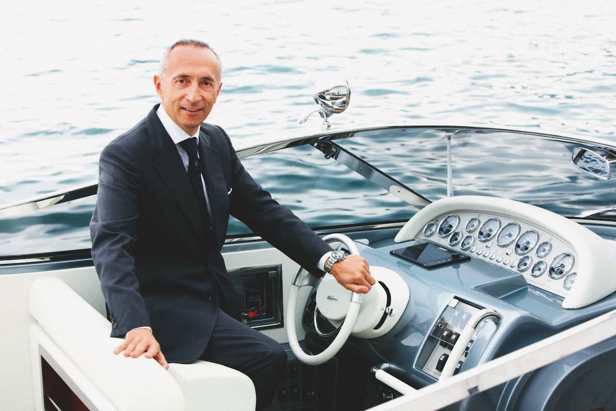 Ferretti Group CEO Alberto Galassi