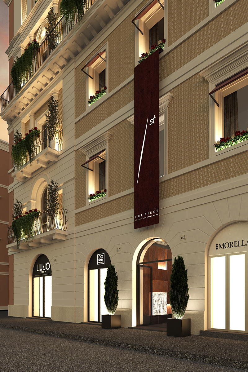 First Roma Dolce, patisserie inspired hotel