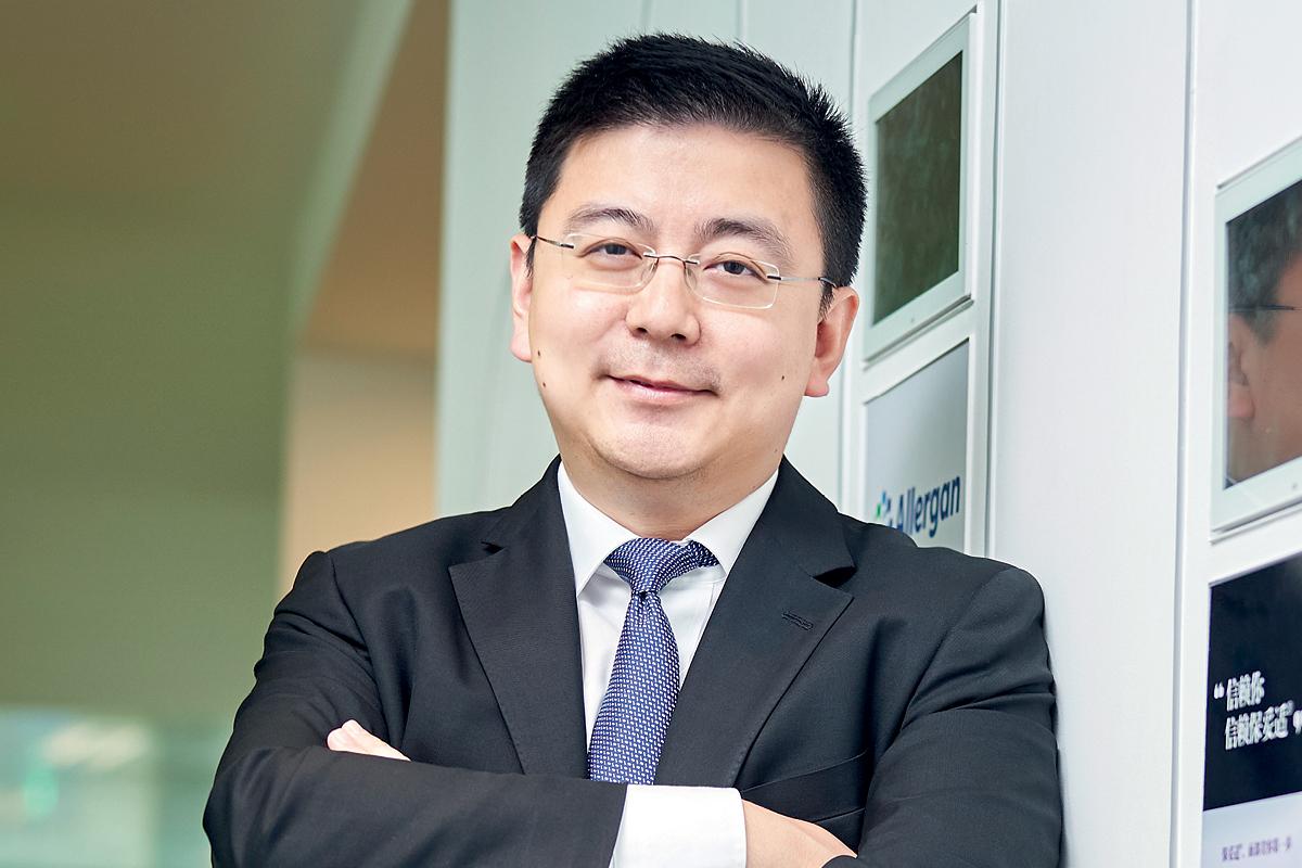 White Wang, President of Allergan China