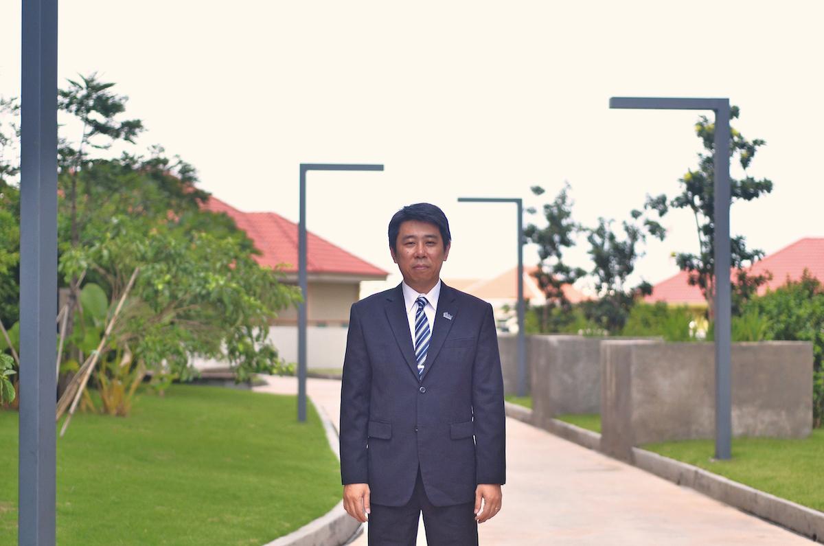 Takashi Eguchi, President of Creed Asia (Cambodia)