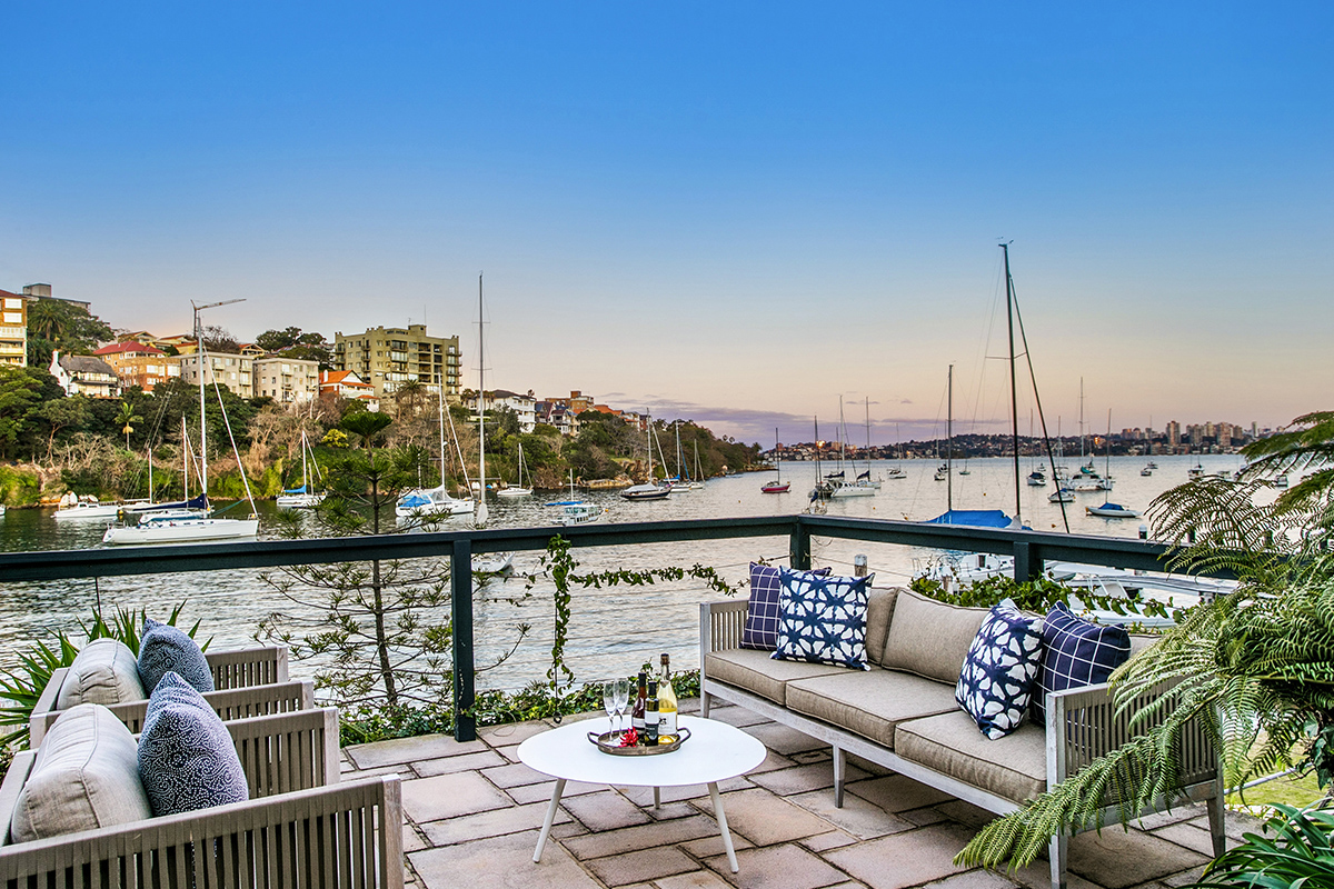 Kurraba Point harbourside property Sydney Knight Frank