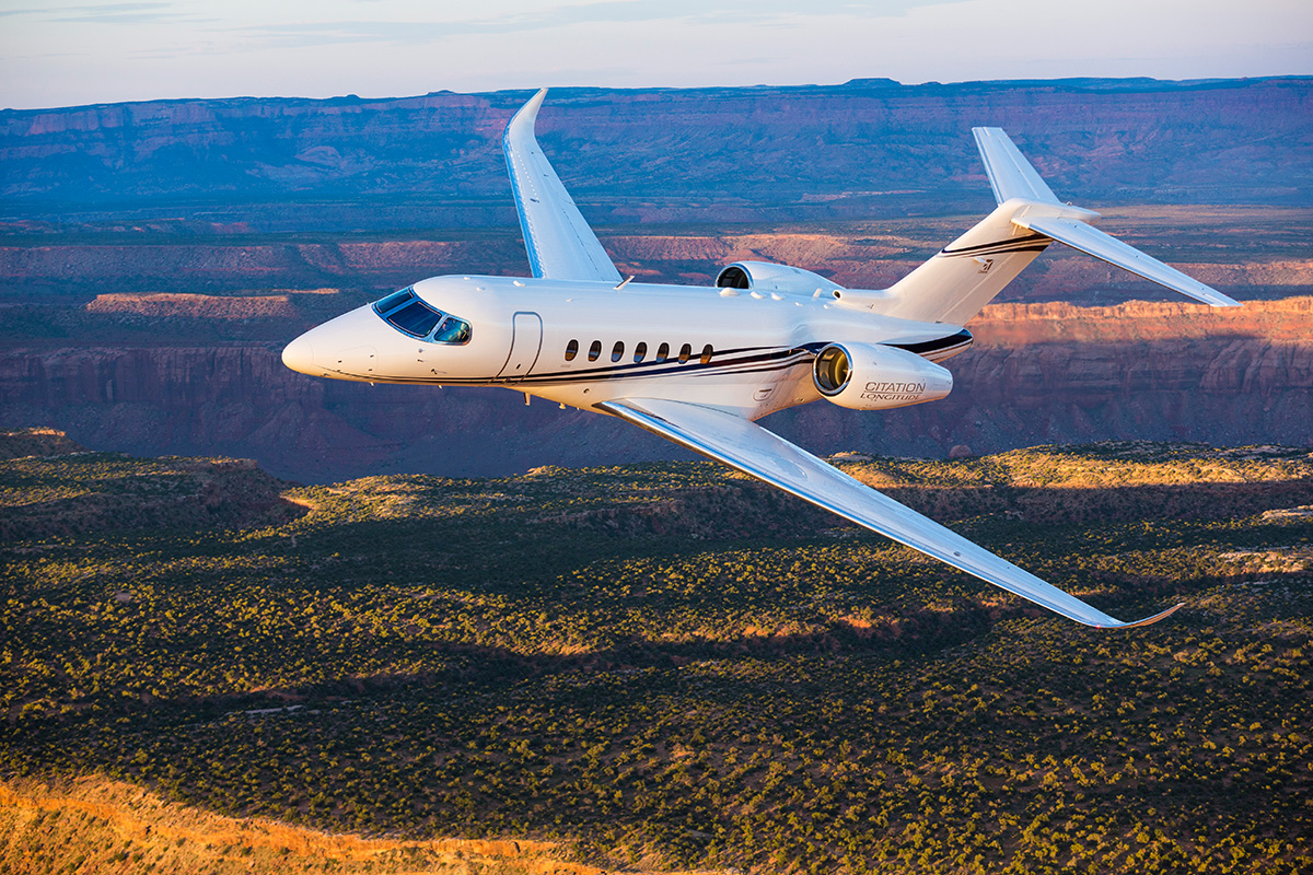 Citation Longitude private jet