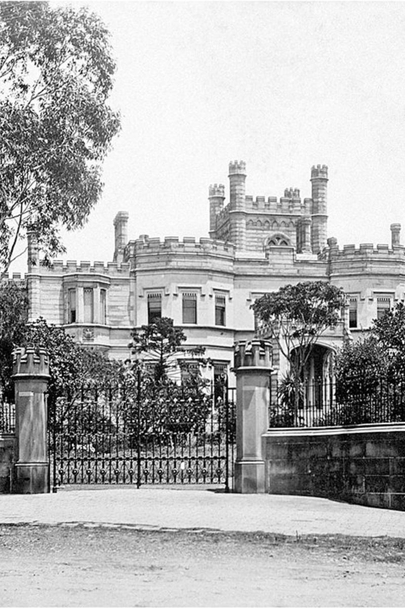 Swifts mansion Sydney Harbour Concours d'Elegance