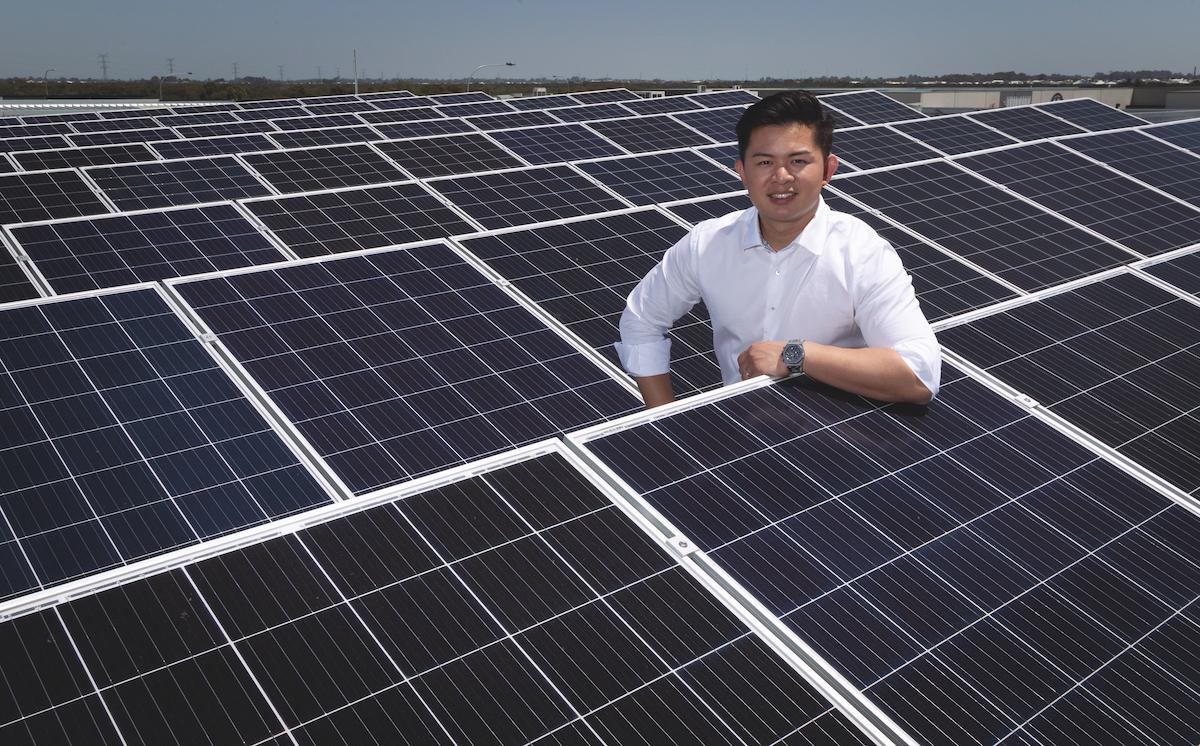 Heuson Bak, General Manager of Solar Naturally