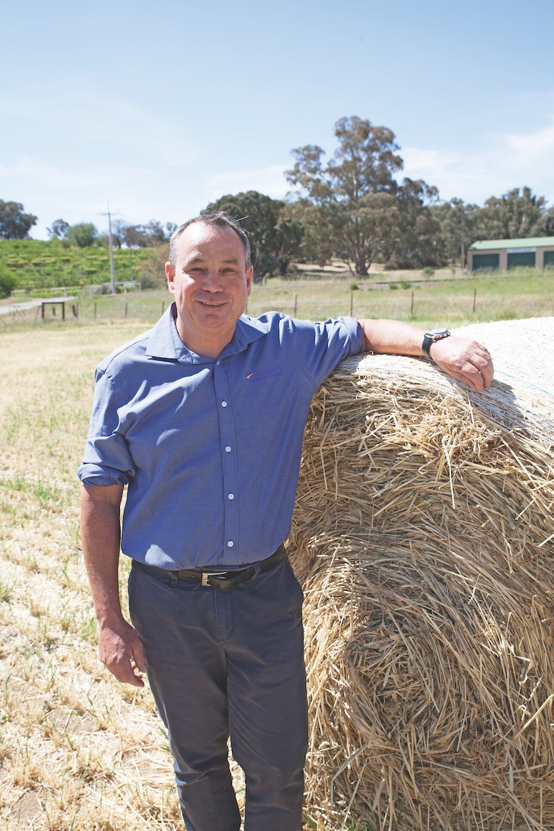John White, Managing Director of Allied Grain Systems