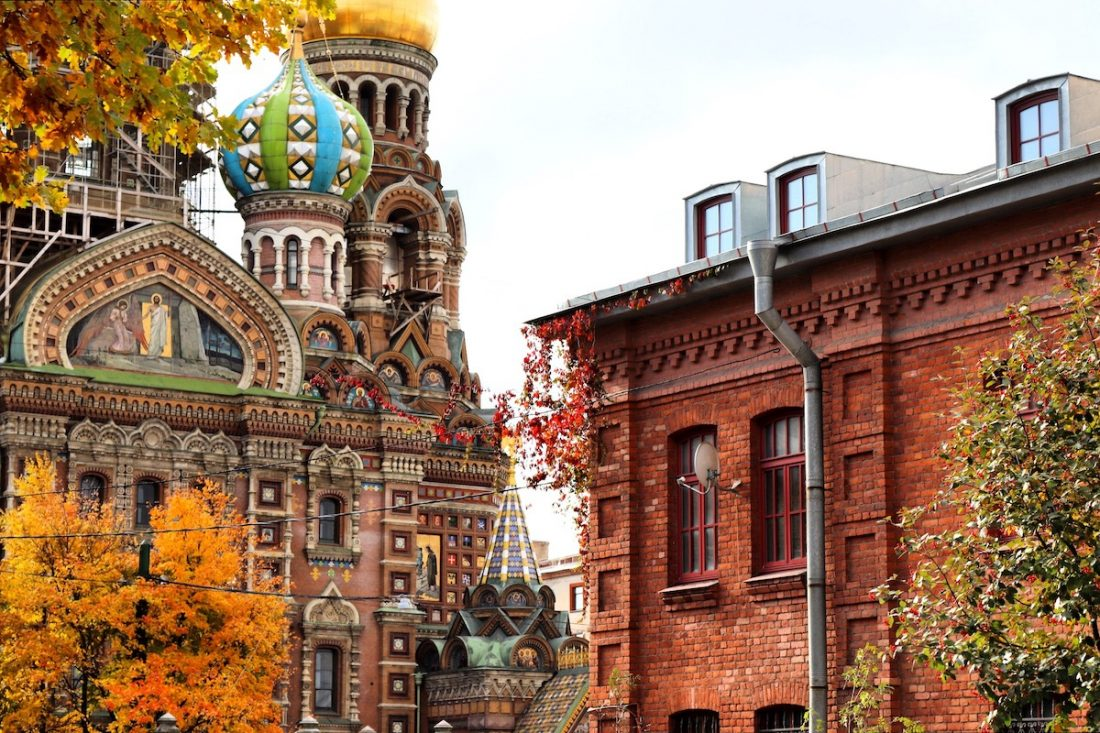 The Church of the Savior on the Spilled Blood, St Petersburg