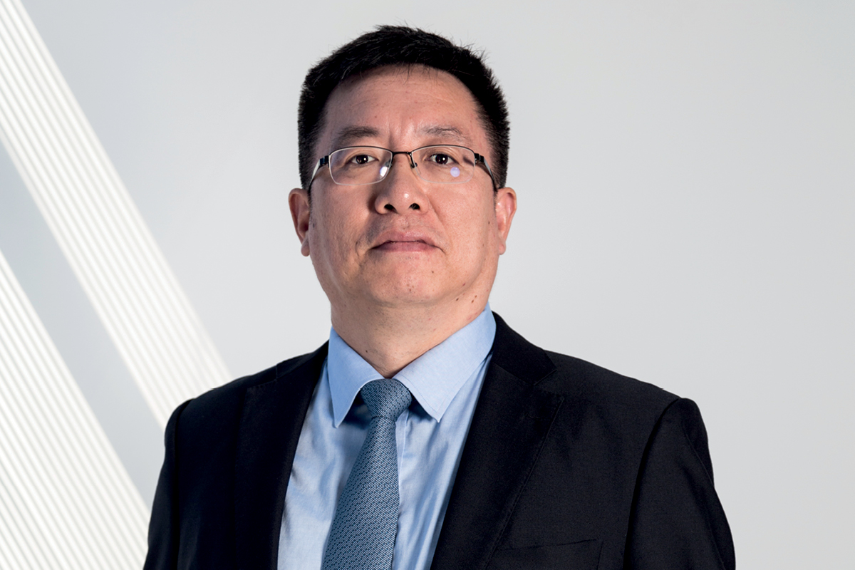 Charlie Qiu, CEO Asia of Thyssenkrupp Presta Steering