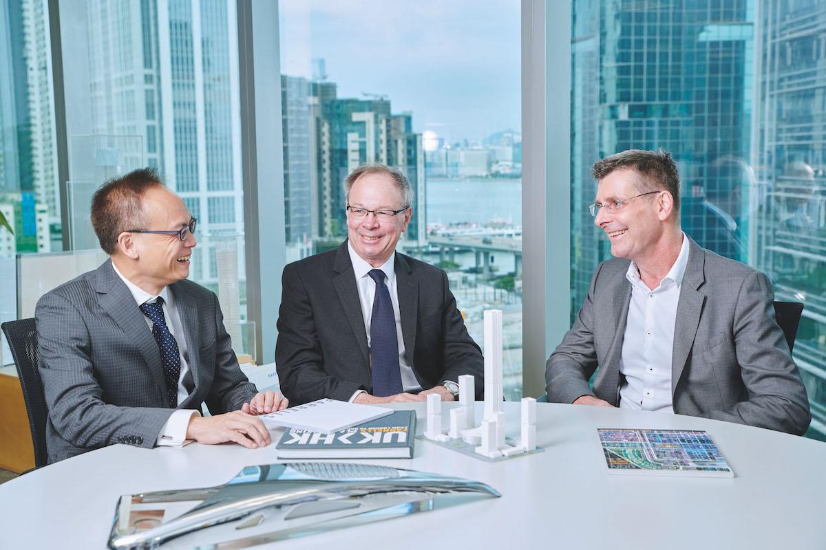 Gavin Erasmus, Stefan Krummeck & Felix Li: Farrells Hong Kong