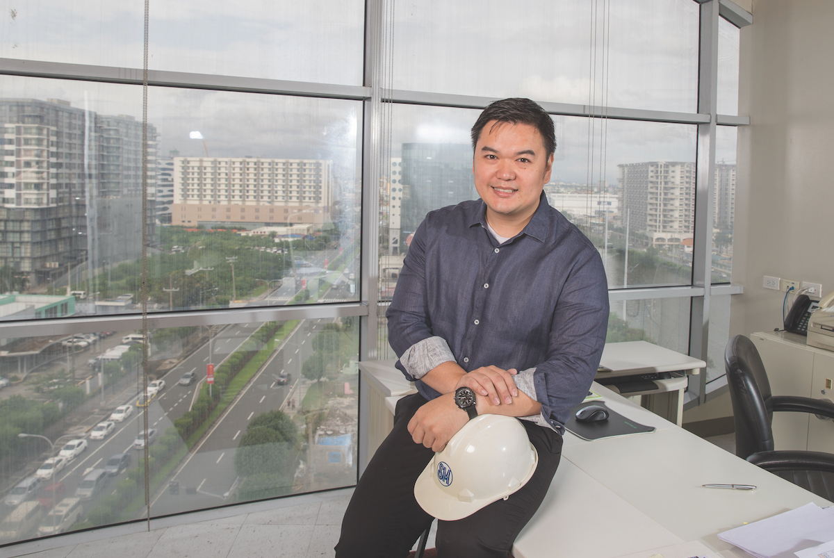 Hans Sy Jr, President of SM Engineering Design and Development