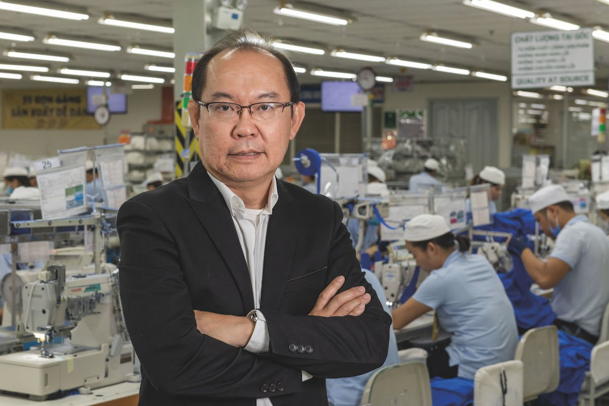 Kent Teh, Director of Manufacturing at Esquel