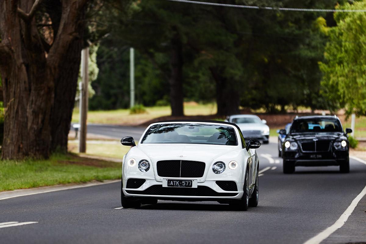 Bentley drive experience