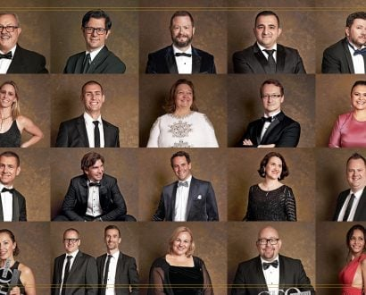 2019 Executive of the Year winners shoot