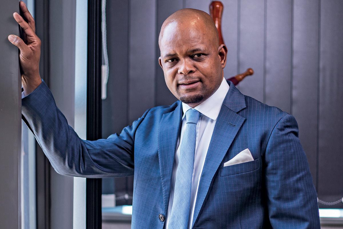 Thapelo Tsheole, CEO of Botswana Stock Exchange