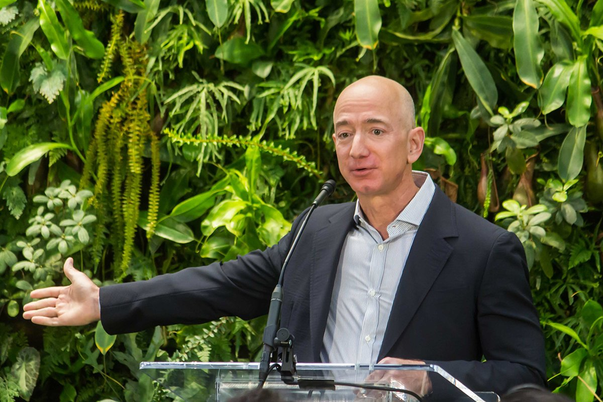 Bezos Earth Fund, philanthropy