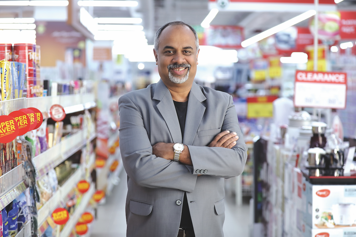 Rajeev Krishnan, Managing Director and CEO of SPAR Hypermarkets
