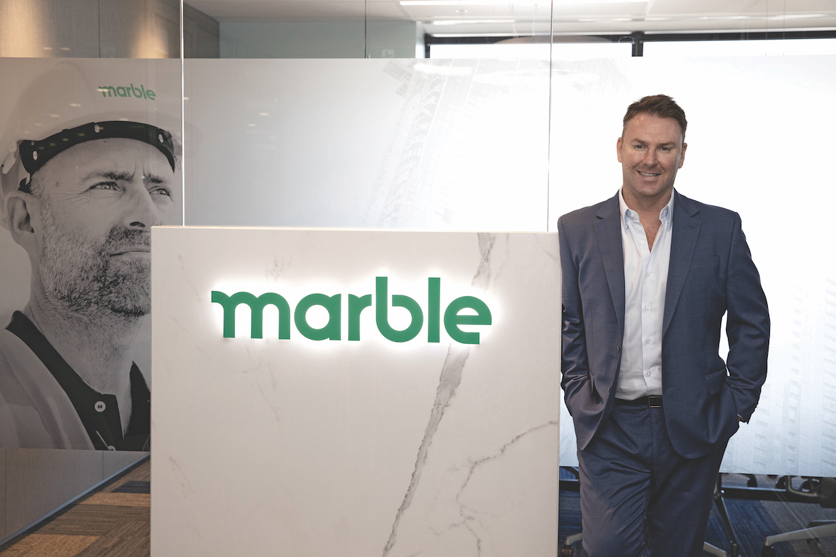 Gary Denton, Managing Director of Marble Group