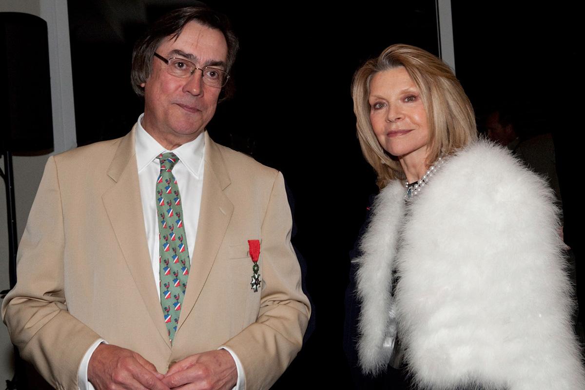 Didier Guérin and Carla Zampatti