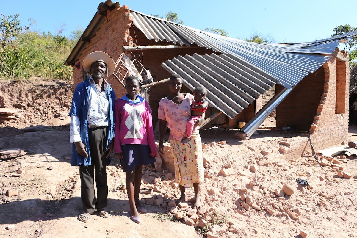 Family in Zimbabwe
