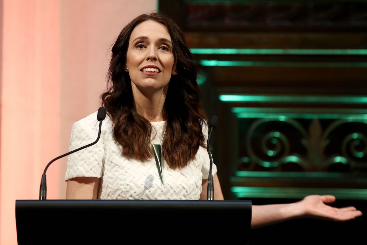 Jacinda Ardern women in leadership