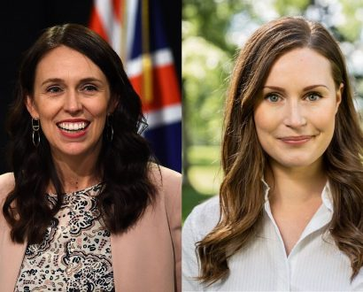 Jacinda Ardern and Sanna Marin