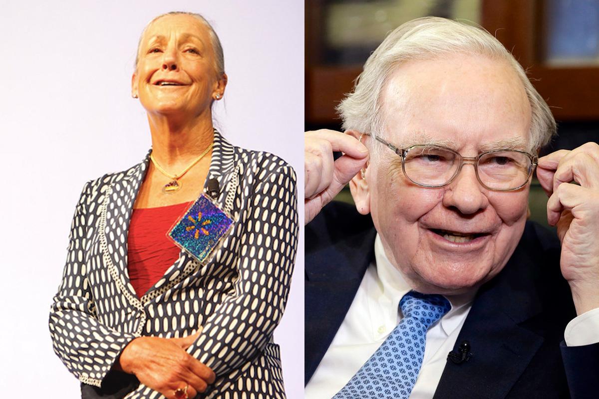 Richest people in 2020 - Alice Walton Warren Buffett