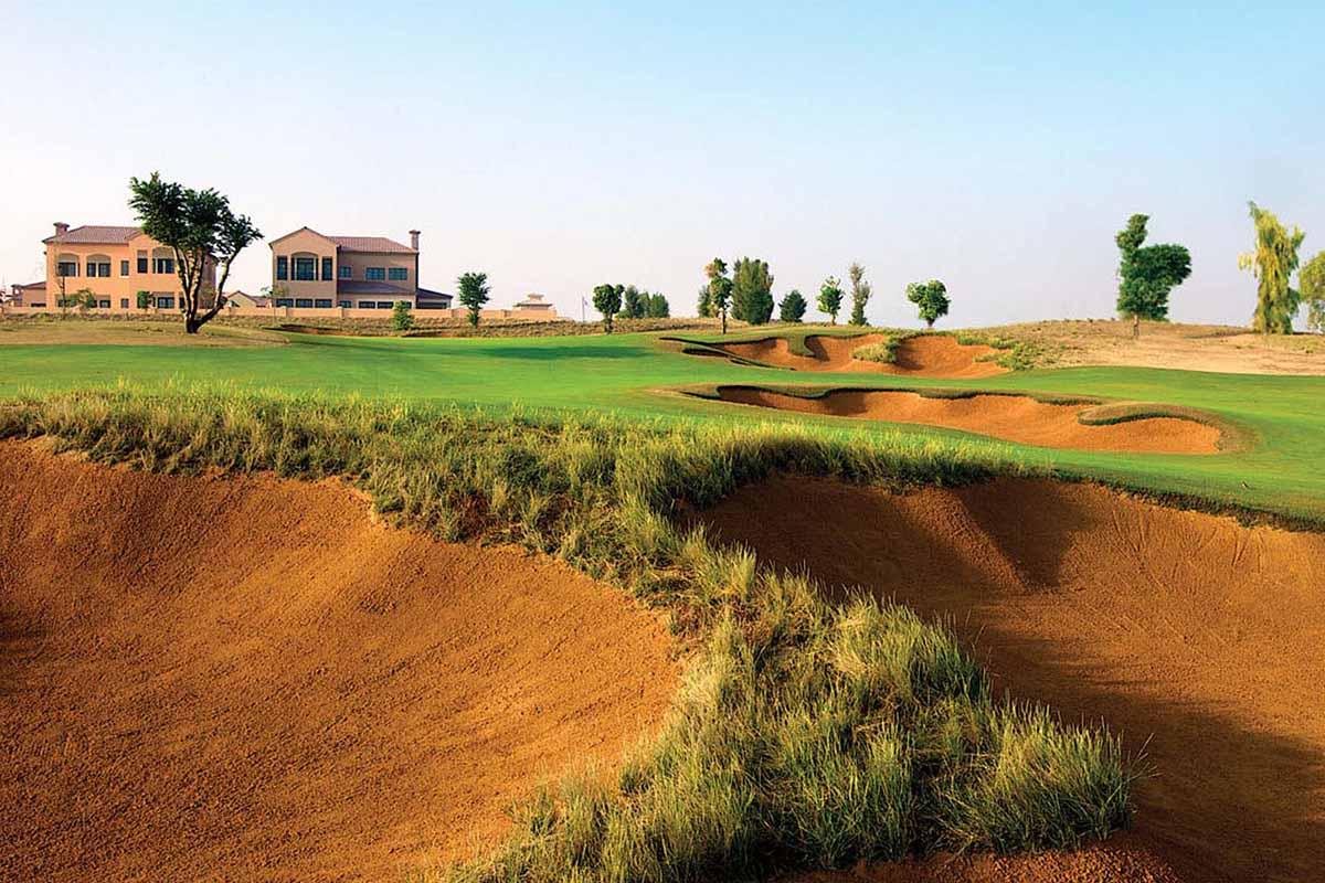 Dubai golf course