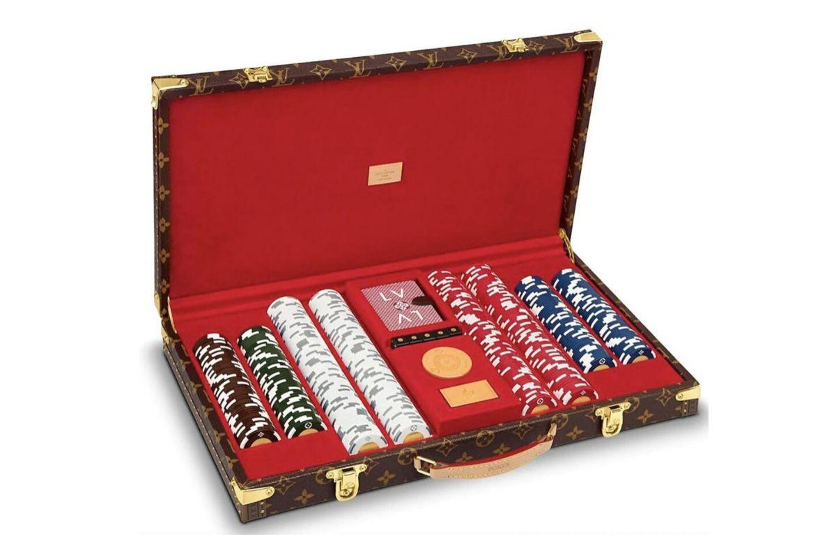 Louis Vuitton poker set