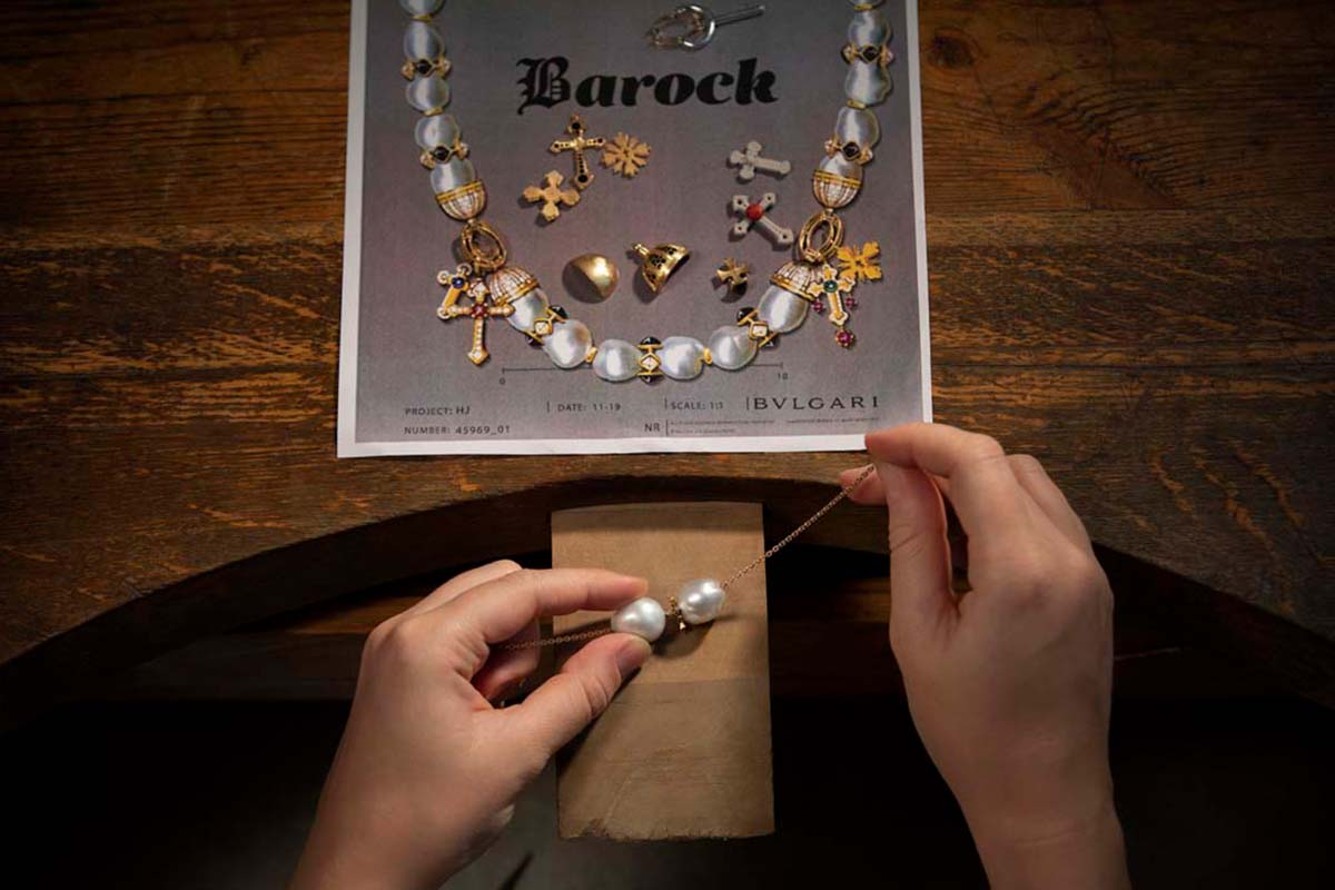 Bulgari baroque collection